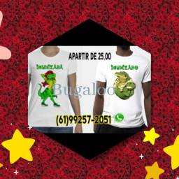 Camisa personalizada imunizados