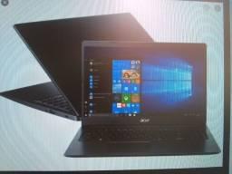 Notebook ACER i3, mais teclado e mouse sem fio mais mouse pad