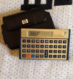 Calculadora Financeira HP 12C Prestige com capa de couro