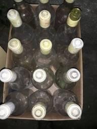 Garrafas vazias de cachaça 51 p/ bebidas artesanais