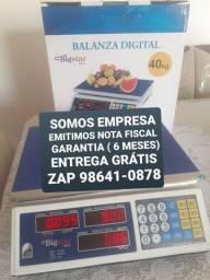 Título do anúncio: BALANÇA DIGITAL 40kg NA CAIXA GARANTIA ATENDIMENTO FIXO ENTREGA GRÁTIS .