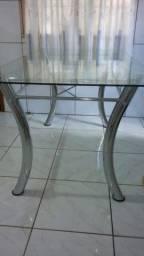 Título do anúncio: Mesa de vidro semi nova
