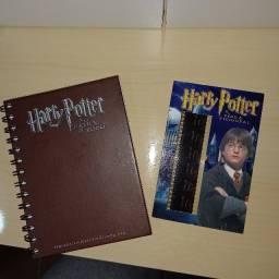 Caderno Harry Potter mais cartão especial