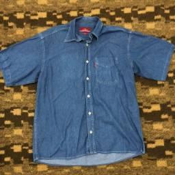 Camisa jeans via veneto
