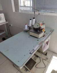 Máquinas de Costura, mesas, cadeiras, ar condicionado