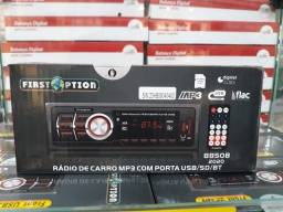 Som automotivo Bluetooth entrada usb rádio entrada auxiliar sd