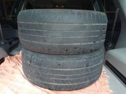Vendo 03 pneus por 100 reais aro 17 225 /50/17 meia vida