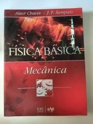Título do anúncio: Livro Fisica Básica - Mecânica - Alaor Chaves J F Sampaio