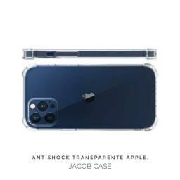 Antishock Anti queda - 100% silicone transparente Apple ( 12mini / 12.12pro / 12promax)