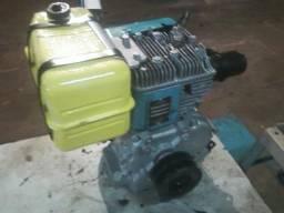 Motor 4 tempos estacionario 7 HP gasolina conservado