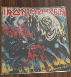 Lp Vinil Iron Maiden - The number of the beast