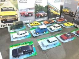 Miniaturas de carros nacionais