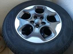 Rodas e pneus originais jeep renegade - zero km