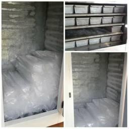 Fabrica de gelo em Barra