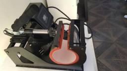 Máquina Prensa Térmica para Canecas Nova Nunca Usada