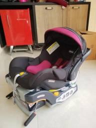 Bebê conforto com base Chicco Key Fit 30 Zip