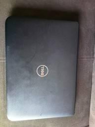 Notebook Dell com defeito