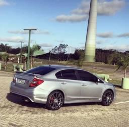 Carro HONDA CIVIC LXL 2012 (exclusivo, diferenciado e esportivo) - 2012