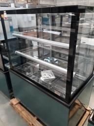 CSNT-1000 Vitrine Neutra New Titanium 1m - Refrimate