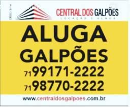 Galpão com 1000m2 bem localizado