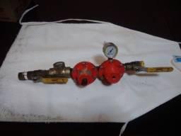 Kit Instalação Gás Comap Limitador Pressão Primeiro Estagio