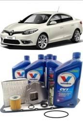 Kit troca de oleo cambio automatico CVT com limpeza flush é na MultiCambios