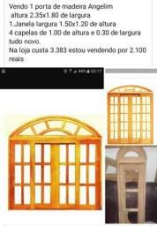 Porta janela e 4capelinhas angelim