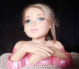 Boneca Charmosa para Maquiar e Decorar