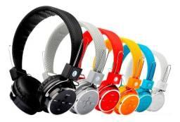 Fone Head Phone Ouvido Bluetooth Cartão Sd Md B-05