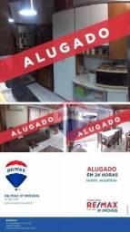 Casa com 2 dormitórios para alugar, 140 m² por R$ 1.254,00/mês - Jardim Jequitibá - Presid