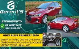 ONIX 2020/2020 1.0 TURBO FLEX PLUS PREMIER AUTOMÁTICO