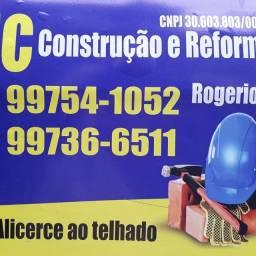I. Construção Civil em geral, Pedreiro, Serralheria, Pintura, Grafiato