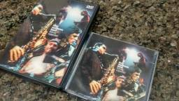 "CD Duplo + DVD Ao vivo ""Listener Supported"" da Dave Matthews Band"
