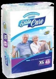 Fraldas descartáveis geriatricas