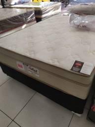 ;;conjunto box + Colchao Outback Casal 138x188