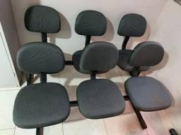Cadeira de 3 Lugares