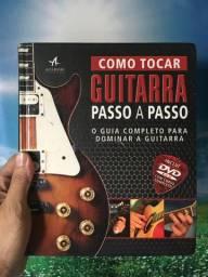 Livro Como Tocar Guitarra Passo a Passo