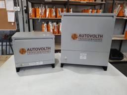 Autotransformador 7,5kVA trifásico 380v p/ 220v + N Reversível