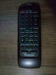 Controle do Rádio Portátil Panasonic