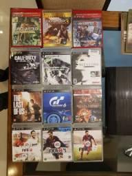 12 Jogos PS3 - Jogos originais em mídia física - Produtos usados