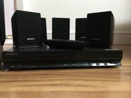 Home Theater + blu-ray Sony + 10 mídias