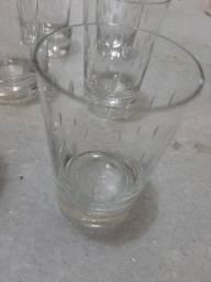 Copos long drink cristal