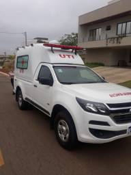 Ambulância 4x4 ( UTI Móvel) S10 Cabine Simples _ Ambulância Tipo D: