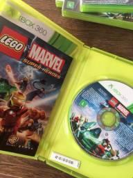 Jogo lego marvel super heroes original seminovo