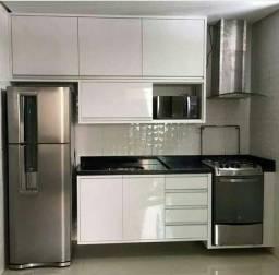 Promoção Cozinha completa sendo branco a partir de 1.800 reais