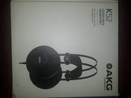 Fone para mixagem e masterização AKG K52