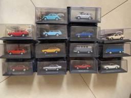 Coleção Carros inesquecíveis 56 miniaturas
