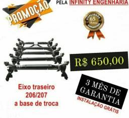 Título do anúncio: EIXO TRAZEIRO PEUGEOT COM TROCA INCLUSA
