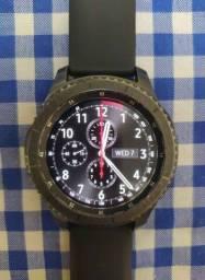 Smartwatch Samsung Galaxy Gear S3 Frontier Original na Caixa com 9 pulseiras