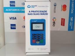 Título do anúncio: Maquininha do Mercado Pago Lacradas Wifi e Chip de dados
